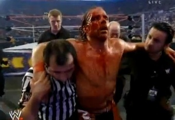 HBK blades, further enhancing his feud with Y2J