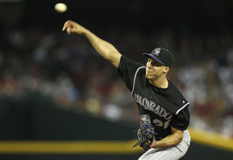 The Colorado Rockies' Ubaldo Jimenez isn't worth the price that the Rockies are asking for him in a trade.