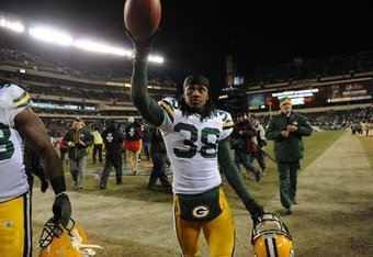 Packers CB Tramon Williams after Game-Winning INT vs. Vick