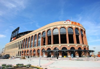 FLUSHING, NY - MARCH 25:  A general view of the exterior of Citi Field on March 25, 2009 in the Flushing neighborhood of the Queens borough of New York City.  (Photo by Mike Stobe/Getty Images)
