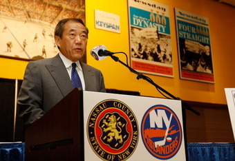 Islanders owner Charles Wang will be hoping for a Yes vote on August 1st.