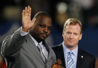 NFL Man of the Year Brian Waters.  Thanks for your time in Kansas City, you will be missed!!