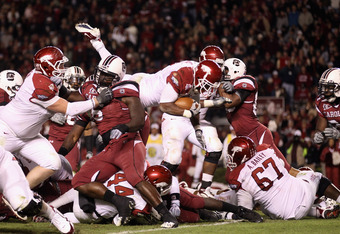 Can Knile Davis carry Arkansas to another BCS Bowl berths?