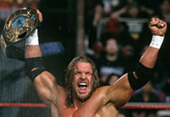 Triple H winning his first wwf title was the greatest moment of my prepubescent years.