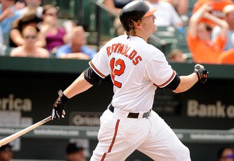 Despite the Orioles' struggles, Mark Reynolds continues to have a successful season (26 homers, 62 RBIs).