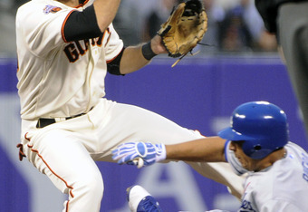 Brandon Crawford struggled with his bat, but his defense is just short of spectacular.
