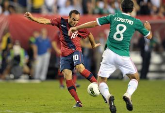 Landon Donovan was impressive against Mexico in Jurgen Klinsmann's first match in charge