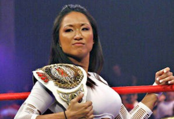 Gail Kim is a former TNA Knockout Champion