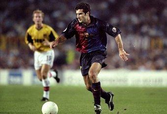 Figo with Barcelona