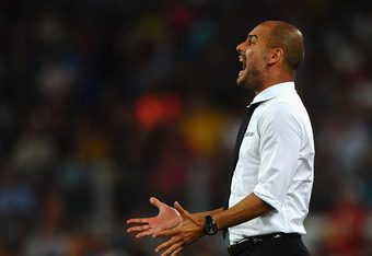 Barca's victory in the Supercopa earned Guardiola his 13th trophy with the club, tying legendary Johan Cruyff for most silverware.