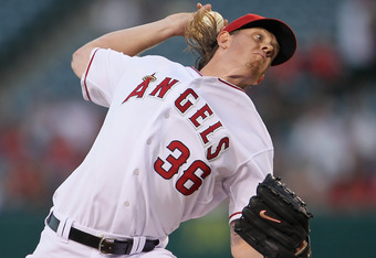 Jered Weaver reportedly signs 5-year, $85 million extension on Sunday.  (Photo by Jeff Gross/Getty Images)