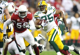 Grant needs to run hard to stave off James Starks.