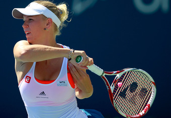 Wozniacki's spotty play this summer should carry a price.  (Photo by Chris Trotman/Getty Images)