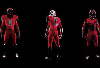 If I played for the Bulldogs I would not come out of the tunnel wearing this.