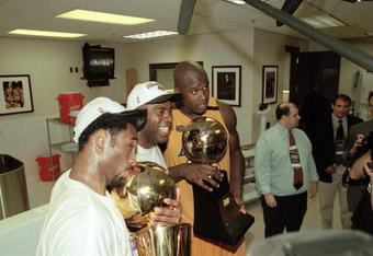 As Magic Johnson would agree, it doesn't matter who gets the glory as long as you end up with the gold.