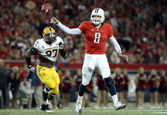 Nick Foles in the Territorial Cup