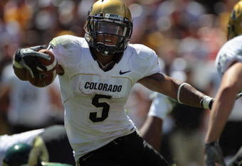 New conference same results. Look for another 1,000 yards rushing from Stewart in 2011.