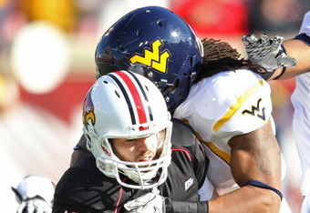 West Virginia's Bruce Irvin will be given the green light to destroy by Casteel this year