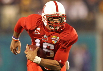 Russell Wilson transferred from North Carolina State to Wisconsin.  Wilson is now the starting quarterback for the Badgers.