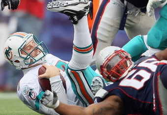 Dolfans hope to see less pictures of Henne in this position in 2011.