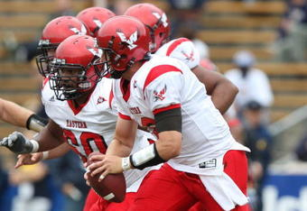 Defending FCS Champions Eastern Washington, seen here playing Cal in 2009, gets another shot at a Pac-12 school when they face Washington.