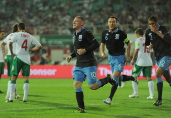 Rooney had much to celebrate against Bulgaria