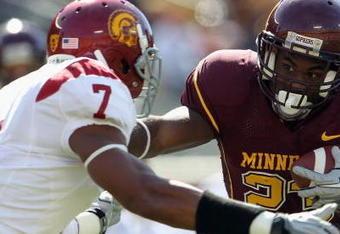 T. J. McDonald lifted the defense