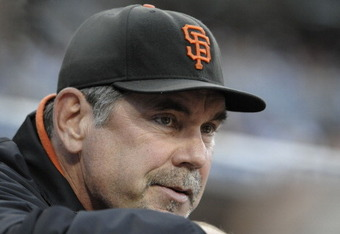 Perhaps another Bruce Bochy brain cramp?
