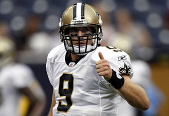 Drew Brees Looks For A Positive Start To The Season