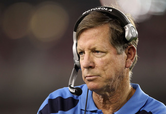 GLENDALE, AZ - AUGUST 27:  Head coach Norv Turner of the San Diego Chargers watches from the sidelines during the preseason NFL game against the Arizona Cardinals at the University of Phoenix Stadium on August 27, 2011 in Glendale, Arizona. The Chargers d