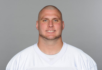MIAMI, FL - CIRCA 2011: In this handout image provided by the NFL, Nate Garner of the Miami Dolphins poses for his NFL headshot circa 2011 in Miami, Florida. (Photo by NFL via Getty Images)