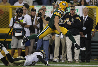 Jordy Nelson could go Super Mario like this for you all year.  Get him now.