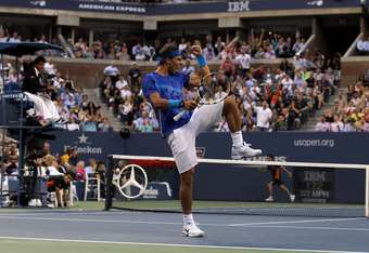 Is Nadal being arrogant here?