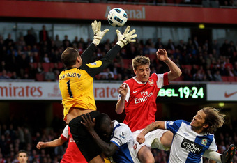 Arsenal—Blackburn has been a hotly contested fixture in recent years.