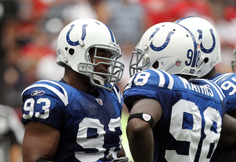 Dwight Freeney and Robert Mathis know they must pick up the slack for the Colts with Peyton Manning sidelined.