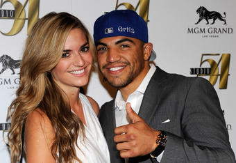 Victor Ortiz post-fight. $2 million richer and he doesn't seem to mind.