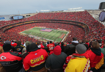 Without its rabid fan base, Arrowhead Stadium is just another venue.
