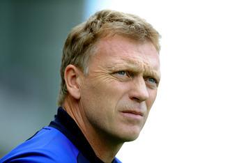 David Moyes, working miracles at Everton