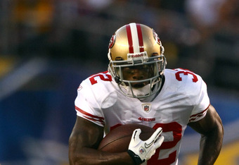 Frank Gore's ankle pain is Hunter's fantasy gain.
