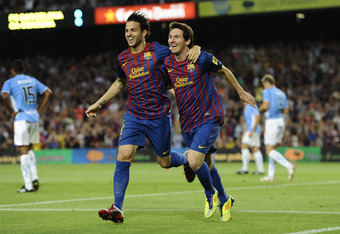 Cesc and Messi, a lethal combination.