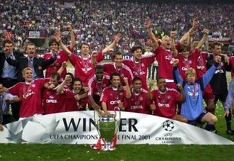 Some players feel that Bayern can emulate this side from 2001.