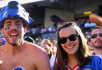 There seem to be more female Bills fans than for other teams.