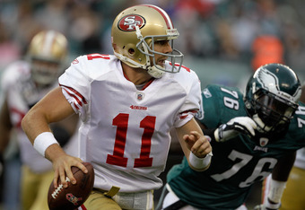 The much criticized Alex Smith performed nicely in the second half enabling San Francisco to close within striking distance for their third win of the season.