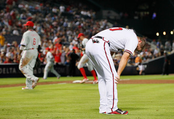 Chipper, feeling as we all did.