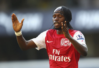 Gervinho: Missed a golden opportunity in the first half