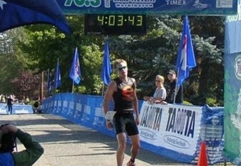 Symonds' 2nd-place finish at Lake Stevens in 2010