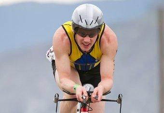 Symonds on the bike at Worlds. Photo: David McColm, www.davidmccolm.com