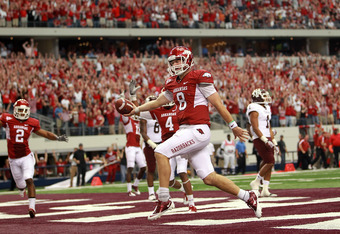 Can Wilson lead Arkansas to a BCS game?