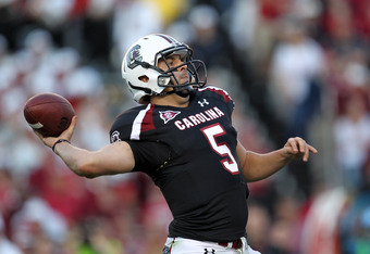 Garcia lost his starting job to Shaw after his performance against Auburn.
