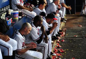 The lethargic Braves let 2011 slip away